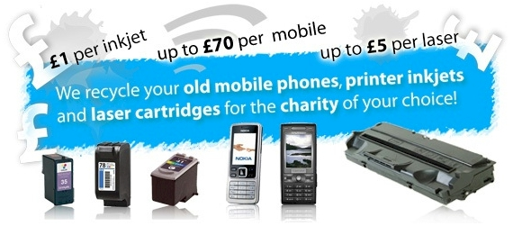 Recycle Ink and Mobile Phones